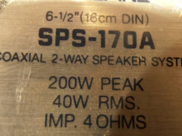 Акустика Alpine SPS-170A, фотография 2