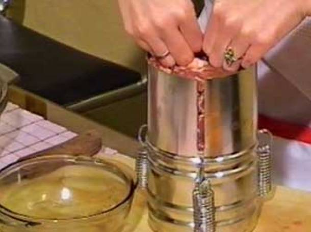 Устройство для приготовления ветчины в домашних условиях
