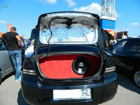 аудио компоненты, вибро-шумоизоляция, парктроники, фотография 9