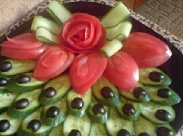 Огурцы в помидорной заливке на зиму с пошаговым