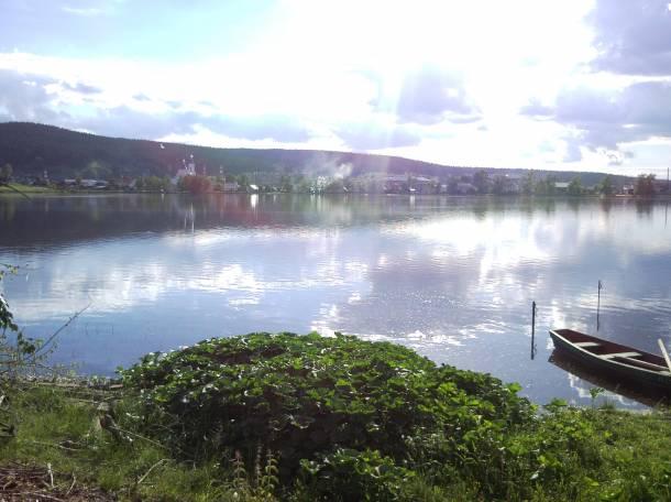 Продам дом на берегу Верхне-Сергинского пруда, 1 линия от воды, фотография 12