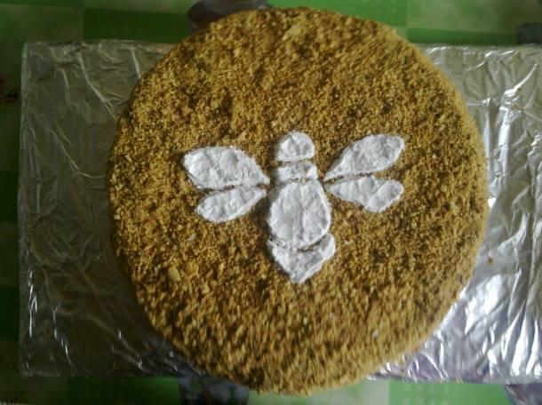 Домашний торт Медовик на заказ, фотография 1
