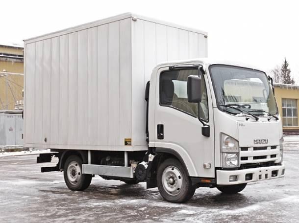 Промтоварный фургон ISUZU NLR85A, фотография 1