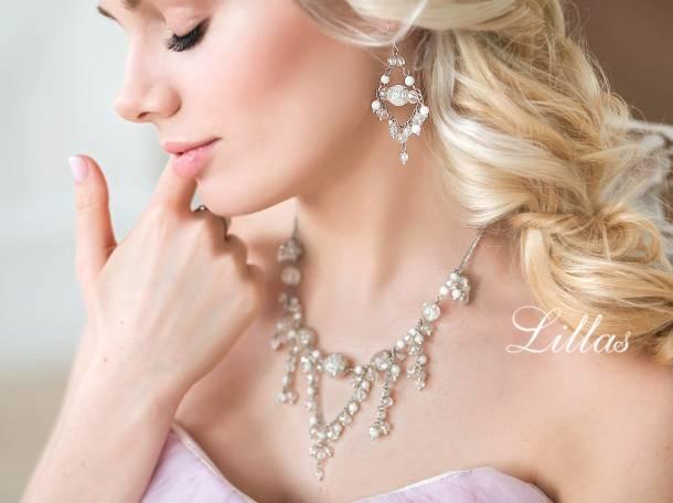 Свадебные украшения для невесты на заказ Lillas, фотография 1