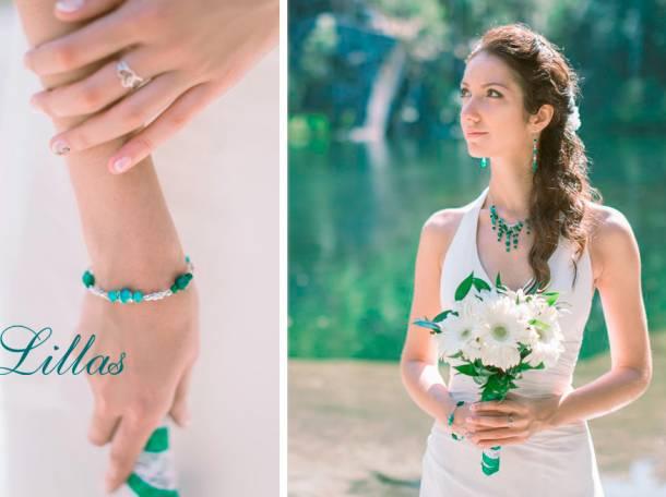Свадебные украшения для невесты на заказ Lillas, фотография 3