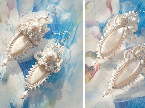 Свадебные украшения для невесты на заказ Lillas, фотография 4
