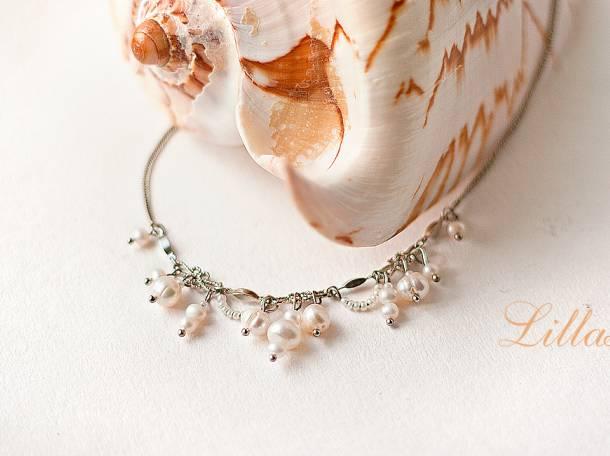 Свадебные украшения для невесты на заказ Lillas, фотография 5