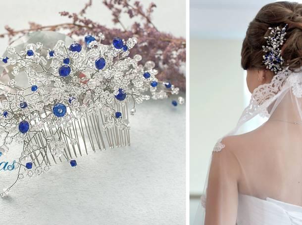 Свадебные украшения для невесты на заказ Lillas, фотография 6