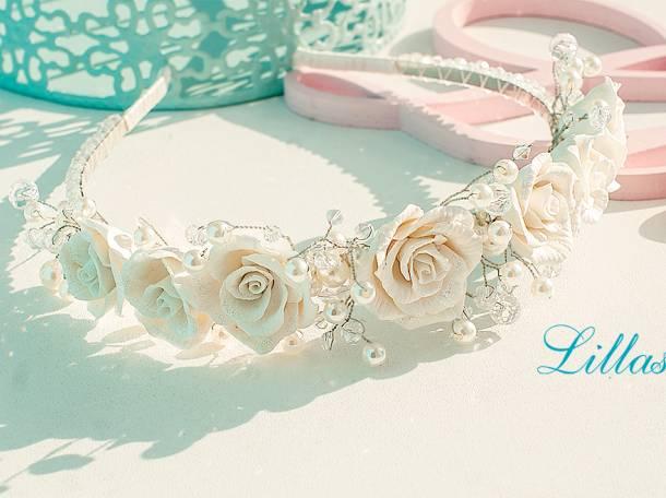 Свадебные украшения для невесты на заказ Lillas, фотография 8