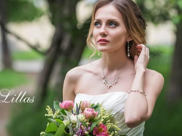 Свадебные украшения для невесты на заказ Lillas, фотография 9