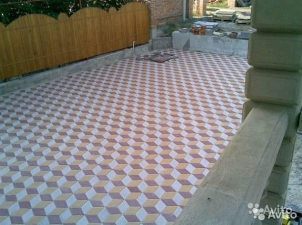 Укладка тротуарной плитки..., фотография 2