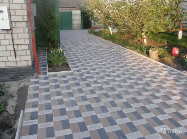 Укладка тротуарной плитки..., фотография 5
