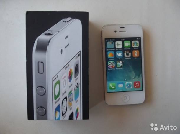 продам iPhone 4 на 8 GB, фотография 1