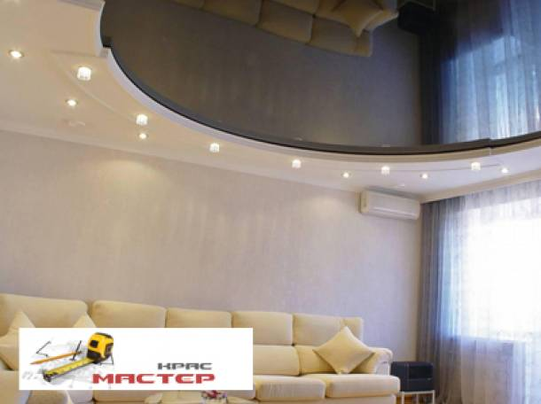 Смонтируем красивые, быстро, любые натяжные потолки, фотография 1