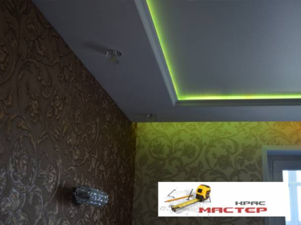 Смонтируем красивые, быстро, любые натяжные потолки, фотография 4