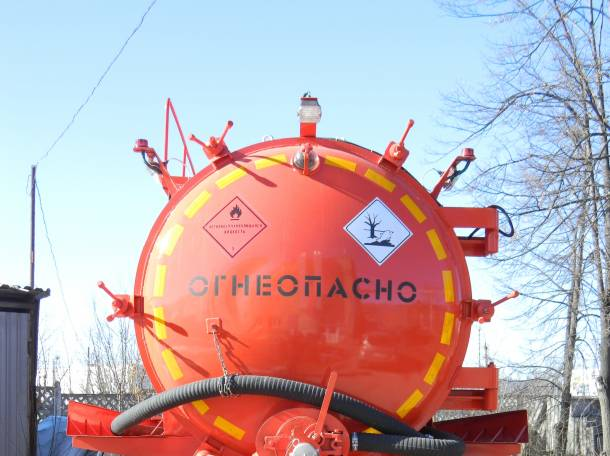 Автоцистерны на базе шасси Урал, КаМАЗ., фотография 2