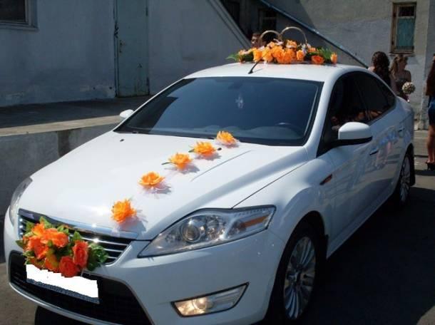 Авто на свадьбу любого класса, кортежи, украшения, фотография 11