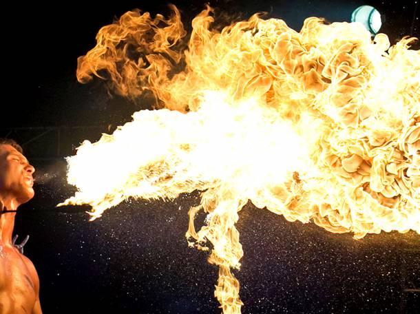 Огненное шоу, фотография 8