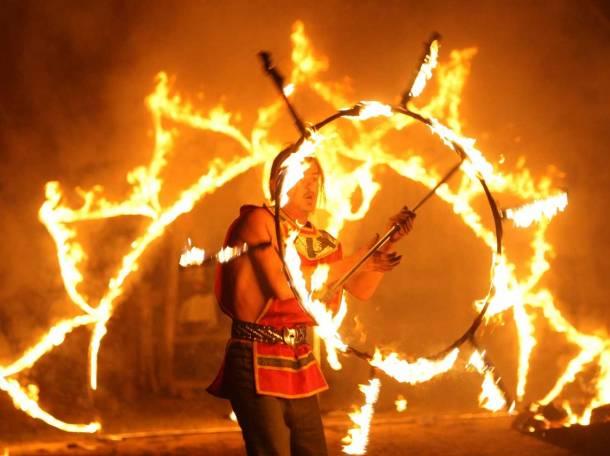 Огненное шоу, фотография 11