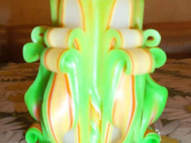 Авторские резные свечи, фотография 1