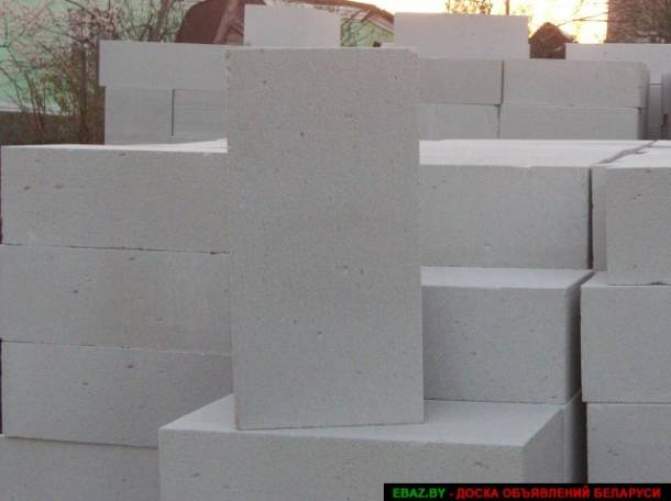 Газосиликатные блоки, фотография 1