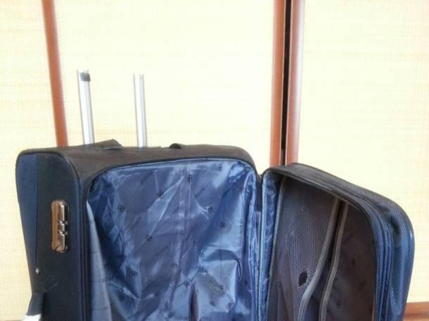 Очень удобный и вместительный чемодан, фотография 2