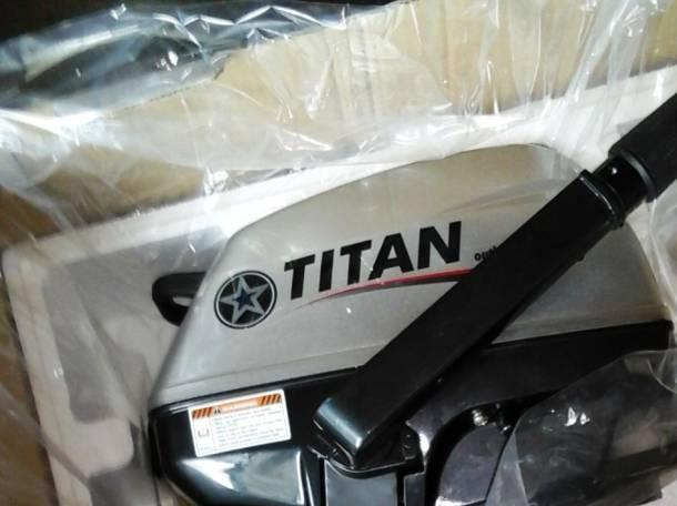 Продам лодочный мотор TITAN 3л.с., фотография 2