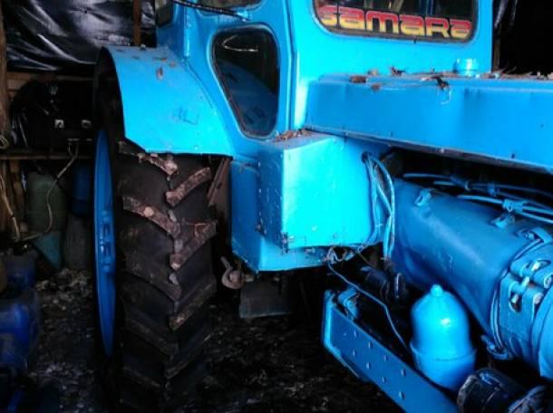 Трактор т-40 с прицепом, фотография 3