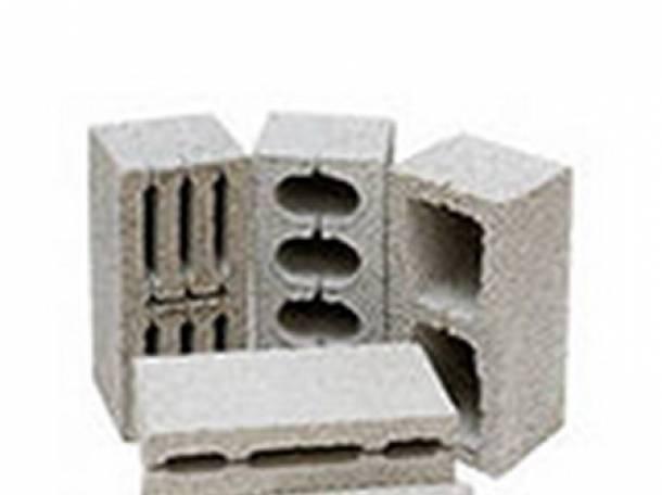 Шлакоблок, керамзитоблоки, фотография 1