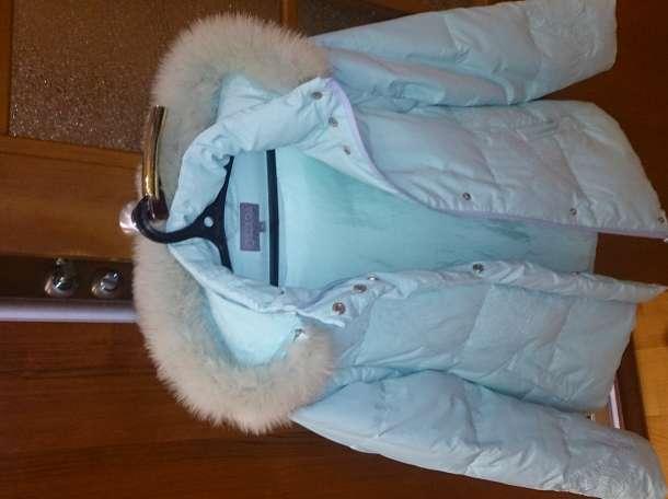 O'HARA Куртка зимняя, цвет морской волны, б/у.  , фотография 3