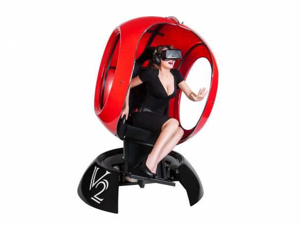 Аттракцион виртуальной реальности FutuRift V2 с очками Окулус Рифт, фотография 2