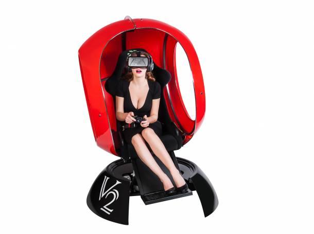 Аттракцион виртуальной реальности FutuRift V2 с очками Окулус Рифт, фотография 6