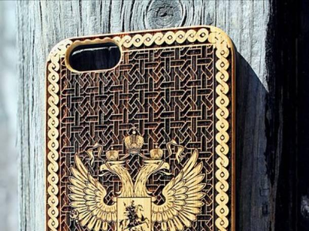 Деревянные чехлы для iPhone оптом и в розницу, фотография 2