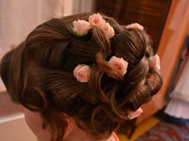 Причёски и Макияж на свадьбу и выпускной.Услуги парикмахера-визажиста с выездом на дом, фотография 4