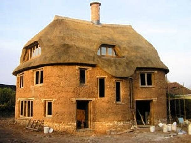 Постройка дома своими руками из самана