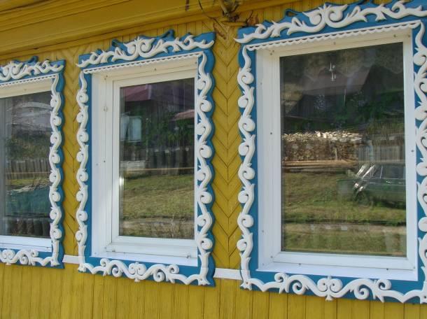 Деревянные наличники., фотография 2