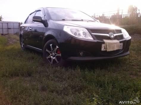 Geely MK, 2008 г. Пробег 70 000 - 74 999 км, 1.5 МТ, бензин, передний привод, седан, левый руль, цвет чёрный, фотография 1