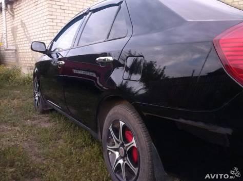 Geely MK, 2008 г. Пробег 70 000 - 74 999 км, 1.5 МТ, бензин, передний привод, седан, левый руль, цвет чёрный, фотография 2