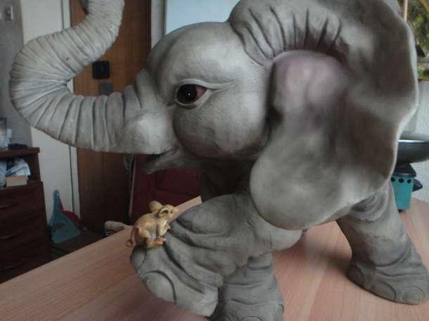 Продаю. Слон гипс, фотография 1