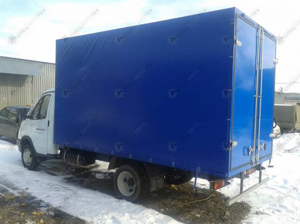 Установка фургонов на б/у автомобили Газель, Валдай, 3309 и др. , фотография 2