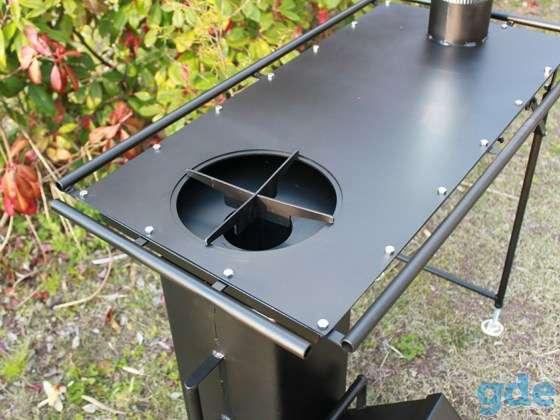 Стол - плита - печь Ракета. Для приготовления пищи., фотография 2