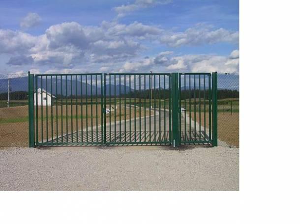 Садовые металлические ворота от производителя, фотография 2