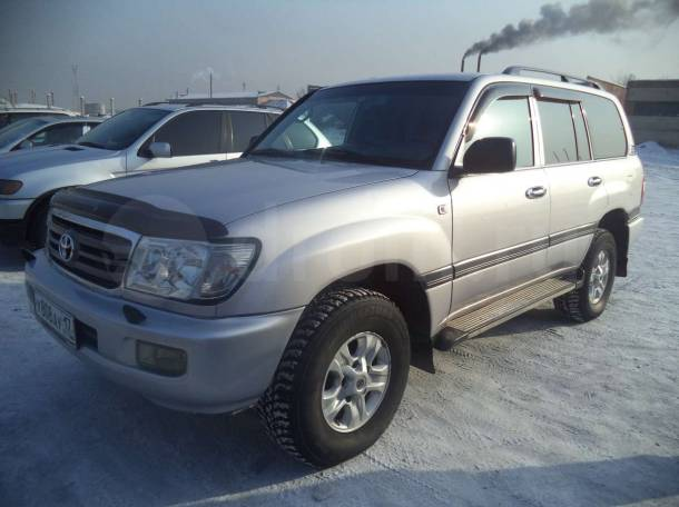 Toyota Land Cruiser, 2005 год, фотография 1