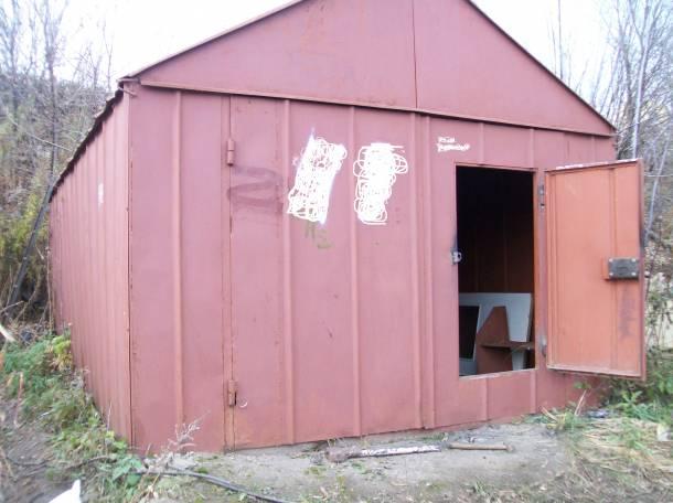 металлический разборный гараж 3.25х5.6 метров, фотография 1
