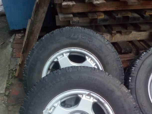 Колеса в сборе УАЗ Хантер литые диски 16 радиус, фотография 1