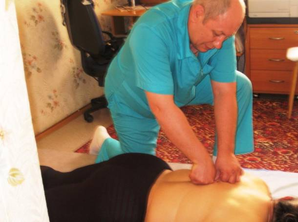 Мануальный массаж позвоночника в москве