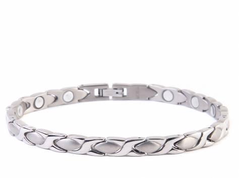 8 моделей магнитных браслетов мужских и женских в Омске, фотография 2