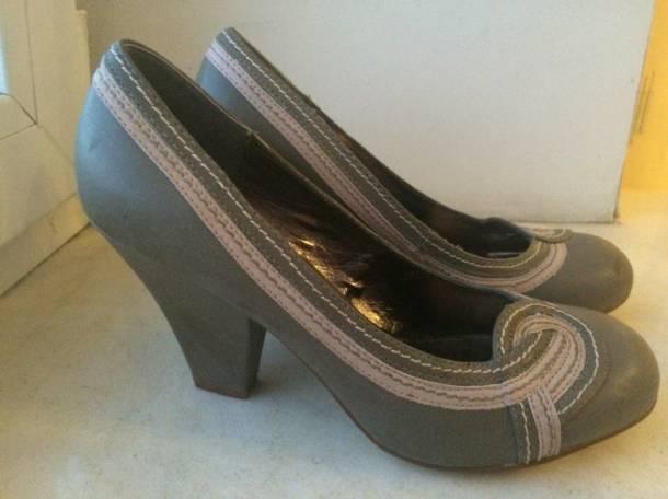 Туфли новые черные натуральная замша, фотография 2