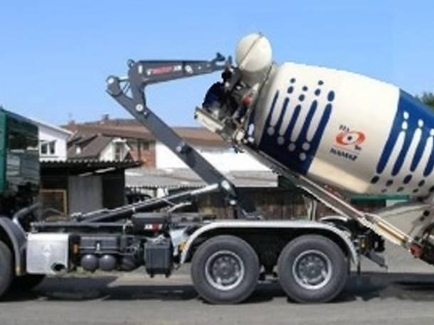 Контейнеровоз – 6 вариантов на 1 грузовик благодаря съёмным модулям (аналог кузовов BDF), бортовой с КМУ, автобетоносмес, фотография 1