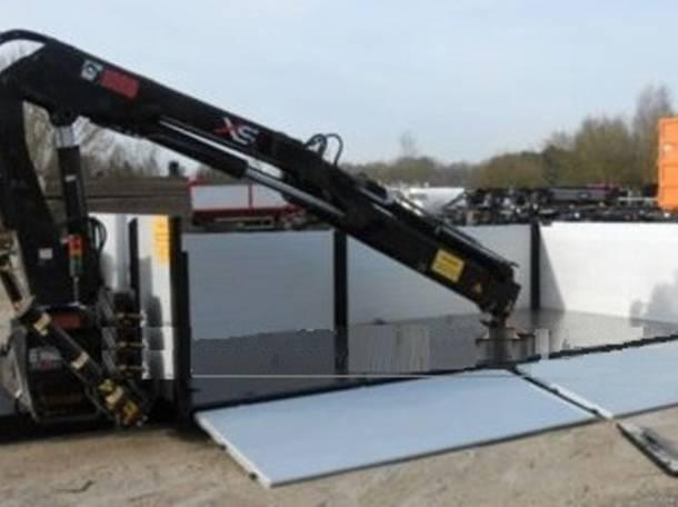 Контейнеровоз – 6 вариантов на 1 грузовик благодаря съёмным модулям (аналог кузовов BDF), бортовой с КМУ, автобетоносмес, фотография 4